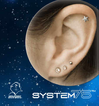 Constellations de piercings : bijoux de perçage pour Studex® System75™