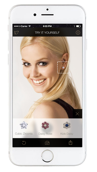 """Ear piercing with Studex app"" pour iPhone"